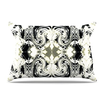 Dawid Roc The Palace Walls Iii Abstract Pillow Case