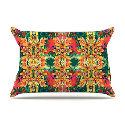 Dawid Roc Tropical Floral Pillow Case