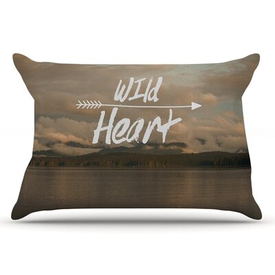 Ann Barnes Wild Heart Landscape Pillow Case