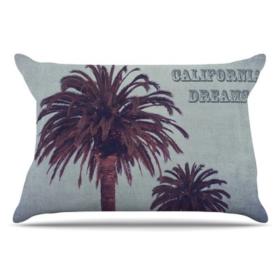 Ann Barnes California Dreams Pillow Case