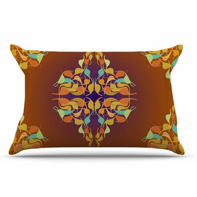 Dan Sekanwagi Feast Pillow Case Color: Purple