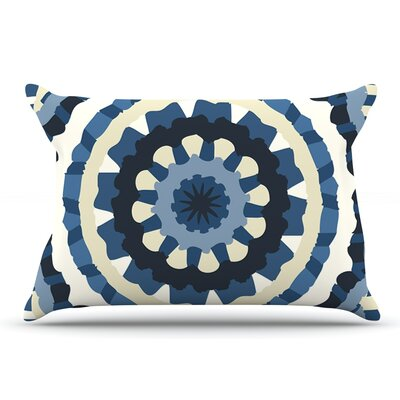 Laura Nicholson 'Ribbon Mandala' Pillow Case