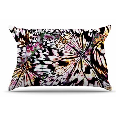 Louise Machado 'Butterfly Wings' Pillow Case