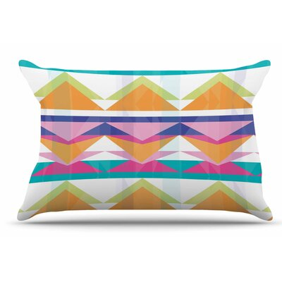 Miranda Mol Triangle Waves Geometric Pillow Case
