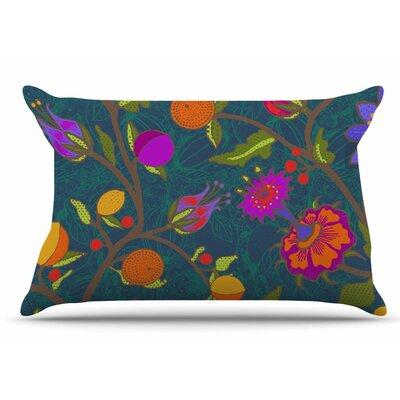 Laura Nicholson Flora Exotica Floral Pillow Case