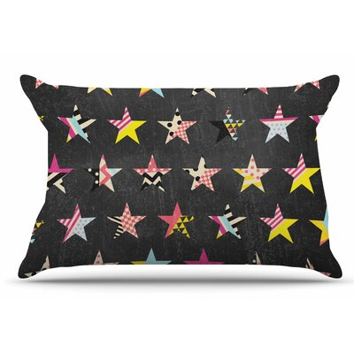 Louise Machado 'Dancing Stars' Pillow Case