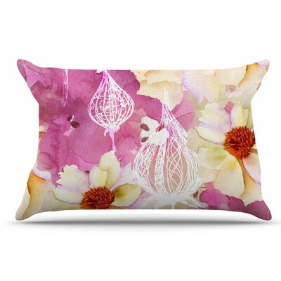 Liz Perez 'Sweet Florist' Pillow Case