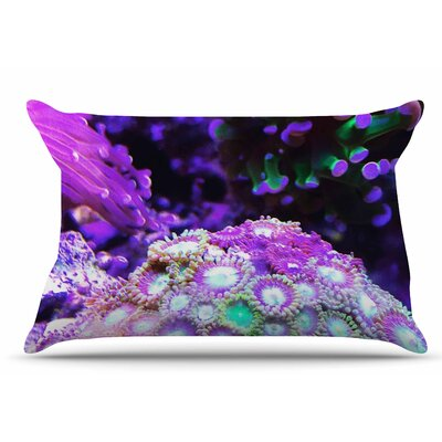 Liz Perez 'Coral Reef' Pillow Case