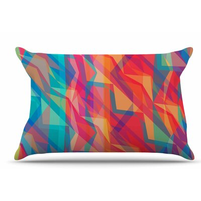 Miranda Mol Triangle Opticals Pillow Case