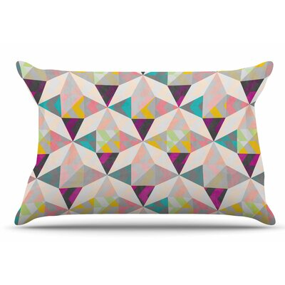 Louise Machado True Diamonds Pastel Pillow Case