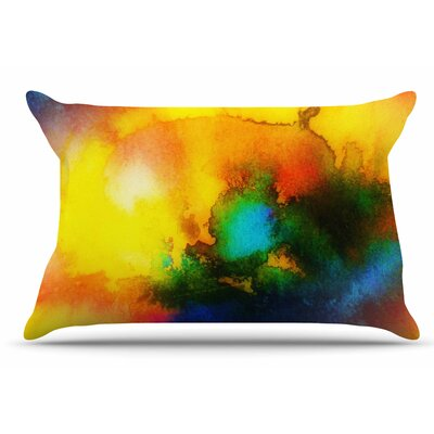 Mimulux Patricia No Good Vibrations Abstract Pillow Case