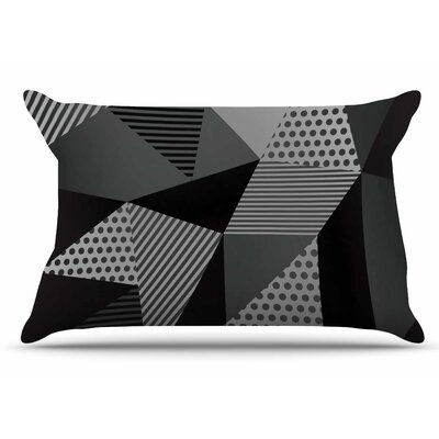 Louise Machado Gray Pallete Pillow Case