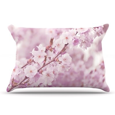 Monika Strigel Endless Cherry Floral Pillow Case