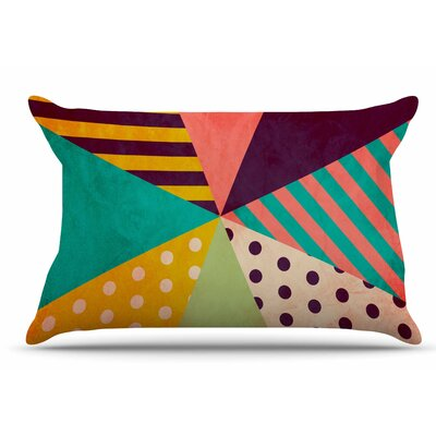 Louise Machado 'Umbrella' Pillow Case