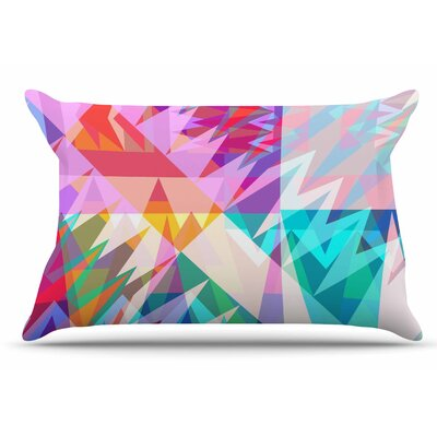 Miranda Mol Triangle Feast Abstract Geometric Pillow Case