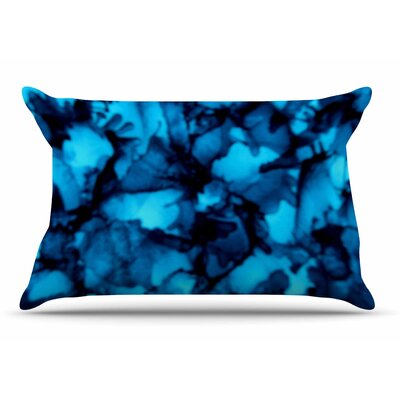 Claire Day Teal Pillow Case