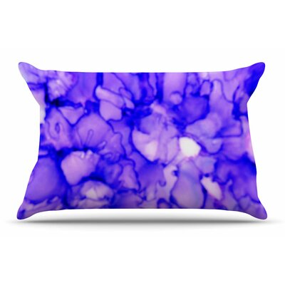 Claire Day Purple Pillow Case