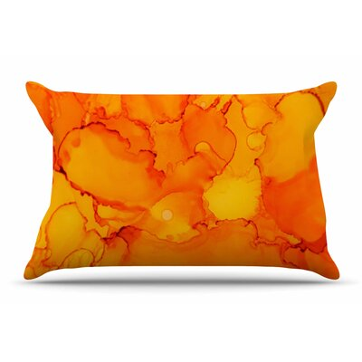 Claire Day Yellow Pillow Case
