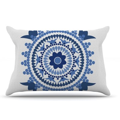 Carolyn Greifeld Bohemian Blues Pillow Case