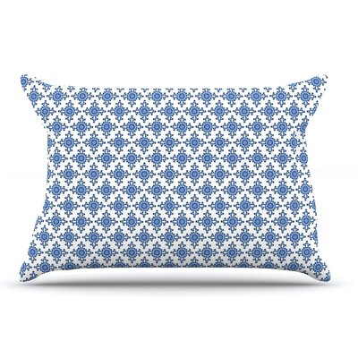 Carolyn Greifeld Bohemian Blues Iii Pillow Case