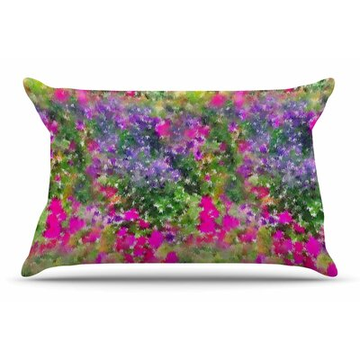 Carolyn Greifeld Water Florals Pillow Case