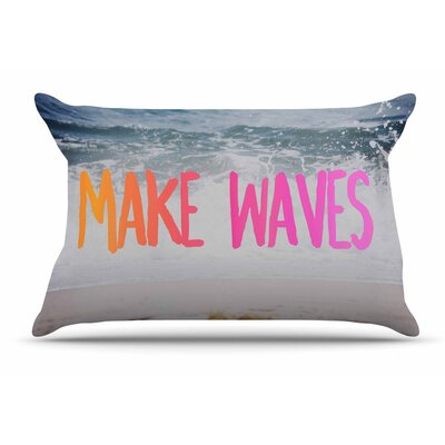 Make Waves Photography Pillow Case
