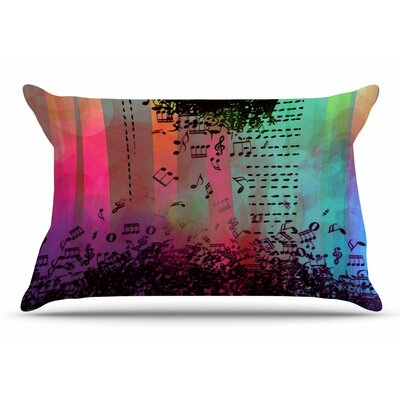 alyZen Moonshadow A Grand Deluge Abstract Pillow Case