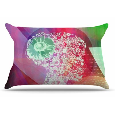 AlyZen Moonshadow Silhouette (Light) Abstract Pillow Case