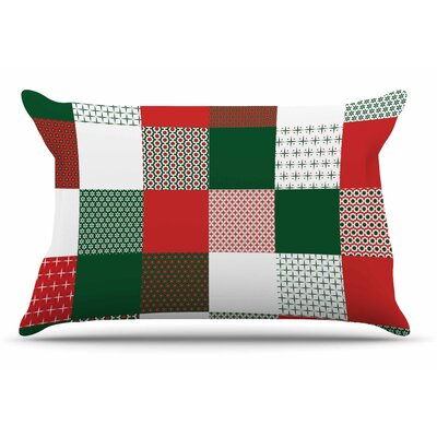 Carolyn Greifeld Holiday Patchwork Pillow Case