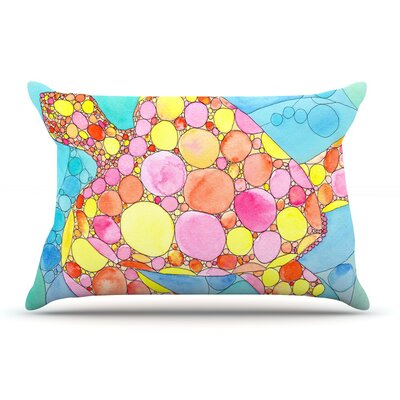 Catherine Holcombe Circle Turtle Pillow Case