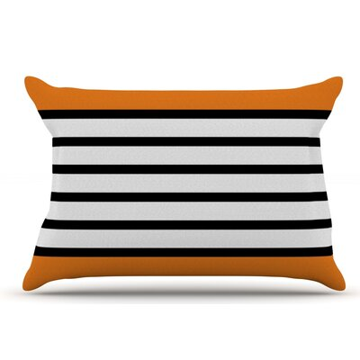 Trebam Sest Redaka Pink Pillow Case Color: Tangerine