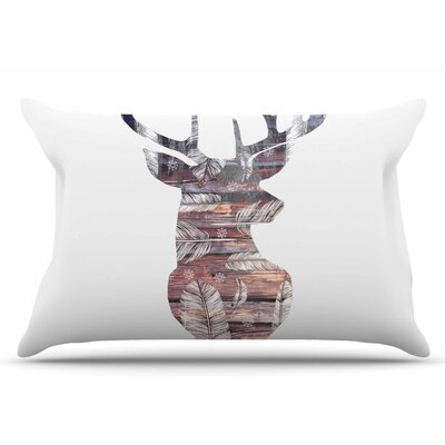 Suzanne Carter The Road White Pillow Case Color: White