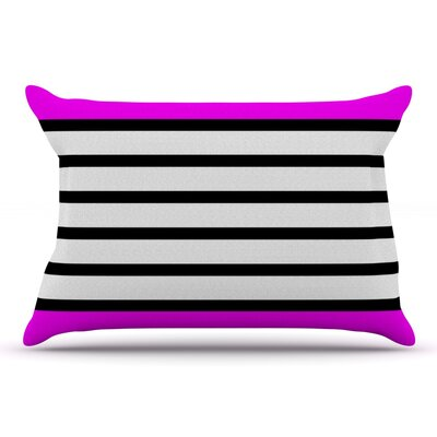 Trebam Sest Redaka Pink Pillow Case Color: Pink