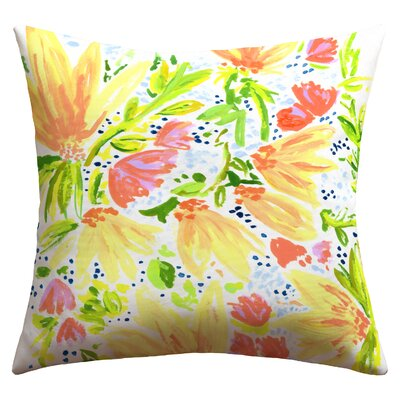 Deny Designs Joy Laforme Blossom Outdoor Throw Pillow