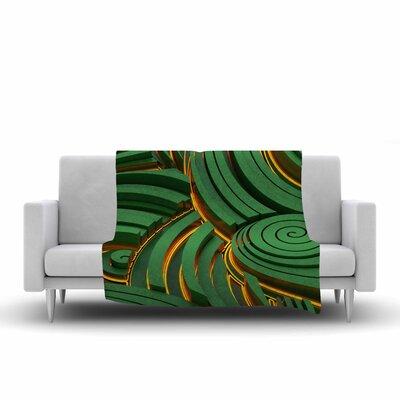 Danny Ivan Infinity Digital Fleece Throw Size: 50 W x 60 L