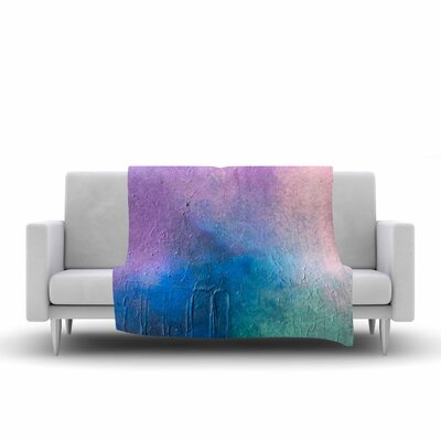 Geordanna Fields Clarity Painting Fleece Throw Size: 60 W x 80 L