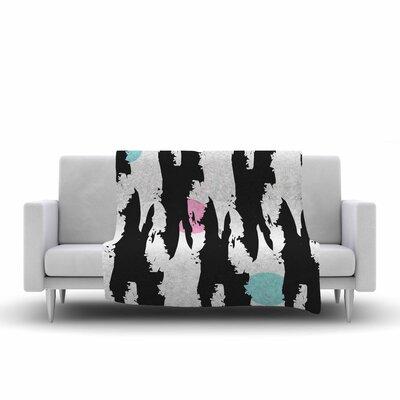 Famenxt Fantasy Geometric Pattern Fleece Throw Size: 60 W x 80 L
