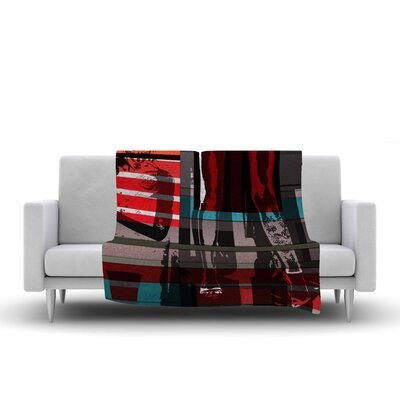 Ivan Joh Temptation Fleece Throw Size: 50 W x 60 L