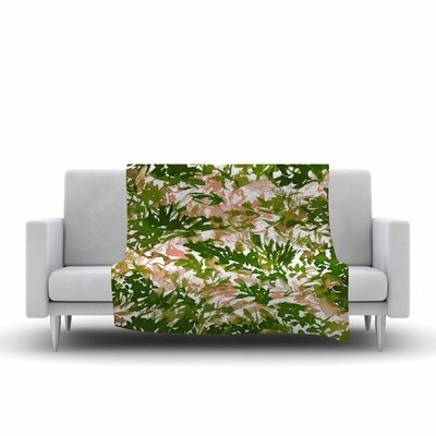 Ebi Emporium in the Meadow 2 Fleece Throw Size: 50 W x 60 L