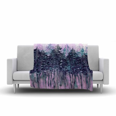 Ebi Emporium Northwest Vibes 5 Fleece Throw Size: 60 W x 80 L