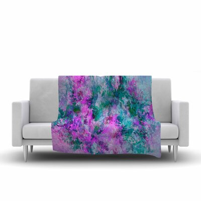 Ebi Emporium the Nexus 5, Painting Fleece Throw Size: 60 W x 80 L