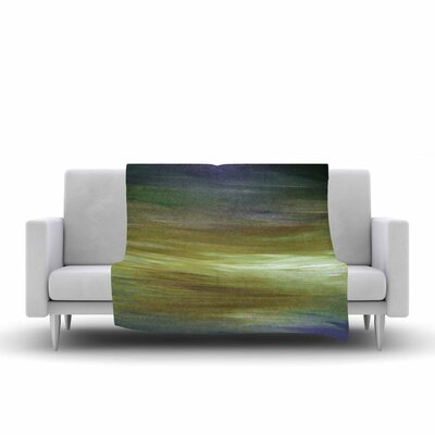 Ebi Emporium Resonance 2 Painting Fleece Throw Size: 60 W x 80 L