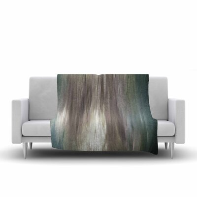 Ebi Emporium Silver Screen Dreams Painting Fleece Throw Size: 50 W x 60 L