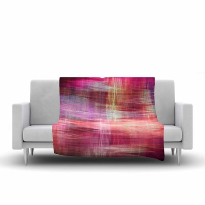 Ebi Emporium Blurry Vision 4 Fleece Throw Size: 50 W x 60 L