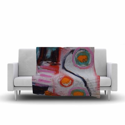 Jeff Ferst Bold New Day Painting Fleece Throw Size: 50 W x 60 L