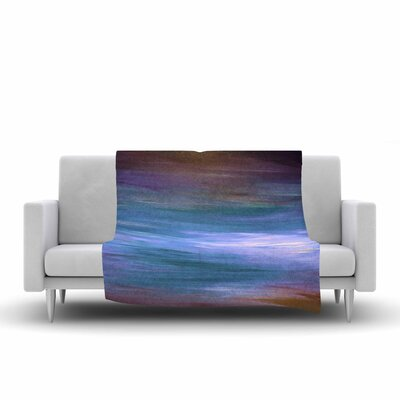 Ebi Emporium Resonance 1 Painting Fleece Throw Size: 60 W x 80 L
