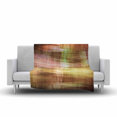 Ebi Emporium Blurry Vision 5 Fleece Throw Size: 50 W x 60 L