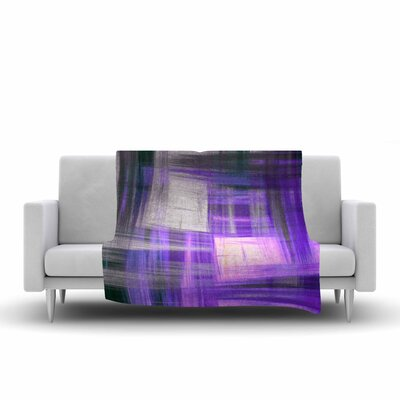 Ebi Emporium TarCrosshatch 2, Painting Fleece Throw Size: 60 W x 80 L