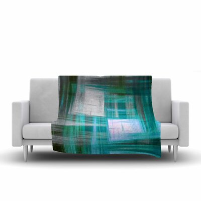 Ebi Emporium TarCrosshatch 3, Painting Fleece Throw Size: 50 W x 60 L