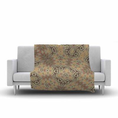 Alison Coxon Tribal Earth Digital Fleece Throw Size: 60 W x 80 L